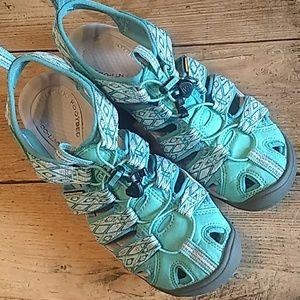 Keen Clearwater CNX sport sandals Lagoon/Vapor